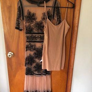 Floor length For Love & Lemons dress